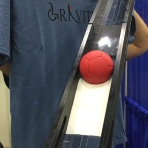 Boccia ramp foam ball holder by Gravity