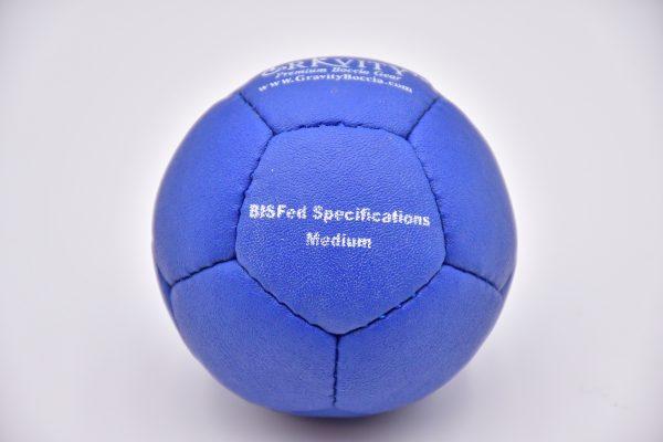 Medium Blue Gravity Boccia Ball