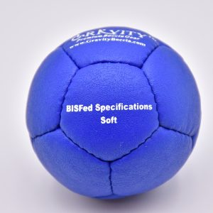 Soft Blue Gravity Boccia Ball