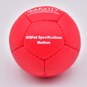 Medium Red Gravity Boccia Ball