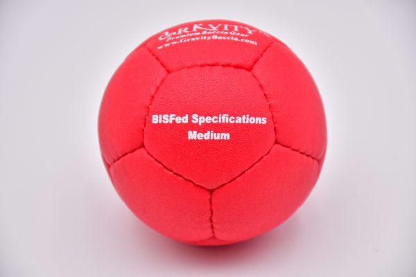 Medium Red Gravity Boccia Ball