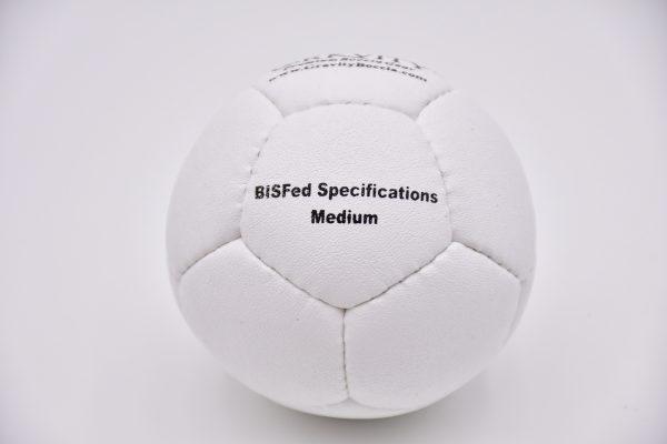Medium White Gravity Boccia Ball