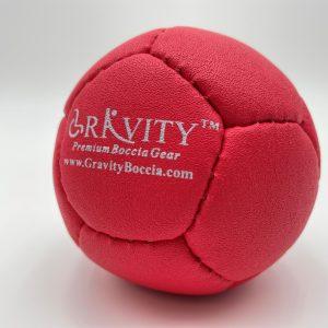 Red Boccia Ball 1