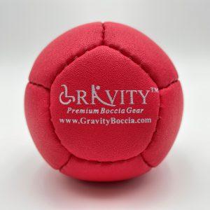 Red Boccia Ball