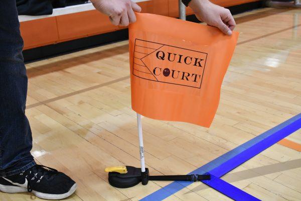 Boccia Court Quick Court Flag