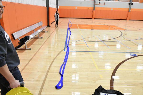 Boccia Quick Court Clean Up